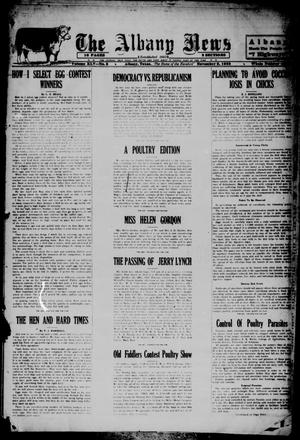 Primary view of object titled 'The Albany News (Albany, Tex.), Vol. 45, No. 5, Ed. 1 Friday, November 2, 1928'.