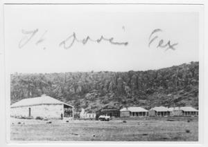 Primary view of object titled 'Fort Davis, Texas'.