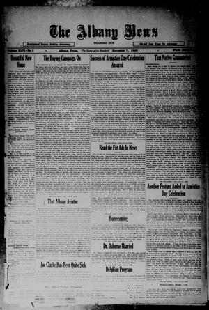 Primary view of object titled 'The Albany News (Albany, Tex.), Vol. 46, No. 5, Ed. 1 Friday, November 7, 1930'.