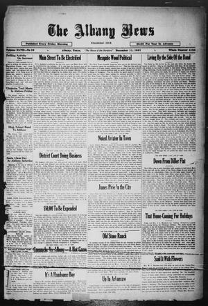 Primary view of object titled 'The Albany News (Albany, Tex.), Vol. 47, No. 10, Ed. 1 Friday, December 11, 1931'.
