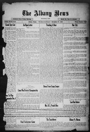 Primary view of object titled 'The Albany News (Albany, Tex.), Vol. 47, No. 8, Ed. 1 Friday, November 27, 1931'.