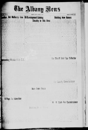 Primary view of object titled 'The Albany News (Albany, Tex.), Vol. 42, No. 31, Ed. 1 Friday, April 16, 1926'.
