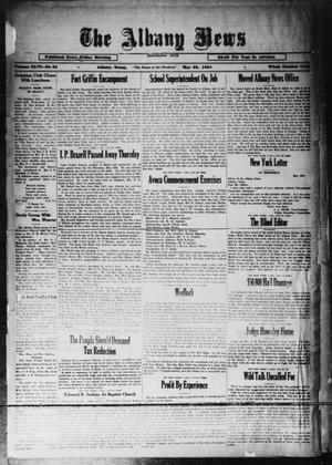 Primary view of object titled 'The Albany News (Albany, Tex.), Vol. 46, No. 34, Ed. 1 Friday, May 29, 1931'.