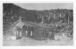 Primary view of object titled '[Photograph of Old Building]'.