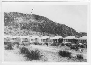 [Row of Officers' Houses, Fort Davis]
