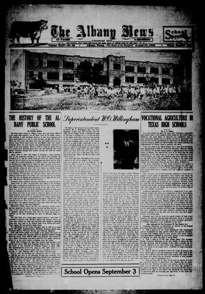 Primary view of object titled 'The Albany News (Albany, Tex.), Vol. 44, No. 48, Ed. 1 Friday, August 31, 1928'.
