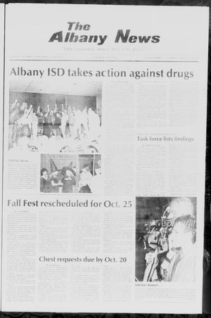 Primary view of object titled 'The Albany News (Albany, Tex.), Vol. 111, No. 18, Ed. 1 Thursday, October 16, 1986'.