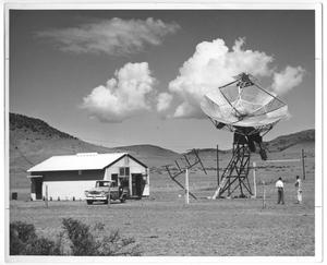 Primary view of object titled 'Harvard Radio Astronomy Station, Fort Davis, Texas'.