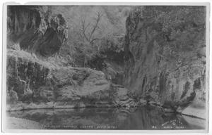 Primary view of object titled 'Calf Slide - Nations Canyon - Davis Mts.'.