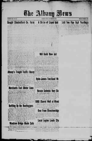 Primary view of object titled 'The Albany News (Albany, Tex.), Vol. 43, No. 10, Ed. 1 Friday, November 26, 1926'.