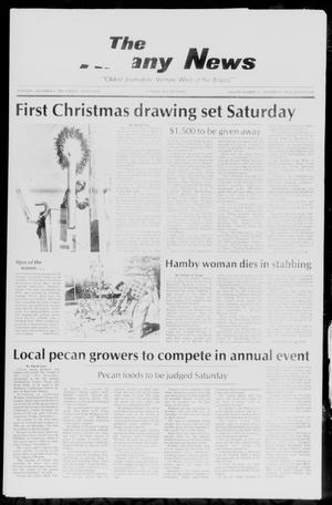 Primary view of object titled 'The Albany News (Albany, Tex.), Vol. 111, No. 25, Ed. 1 Thursday, December 4, 1986'.