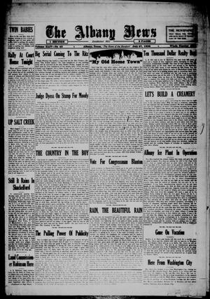 Primary view of object titled 'The Albany News (Albany, Tex.), Vol. 44, No. 43, Ed. 1 Friday, July 27, 1928'.