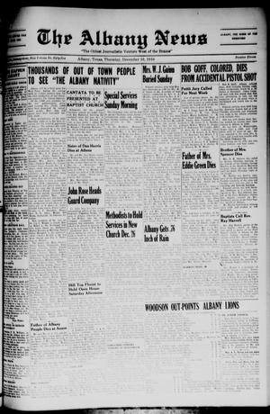 Primary view of object titled 'The Albany News (Albany, Tex.), Vol. 65, No. 11, Ed. 1 Thursday, December 16, 1948'.