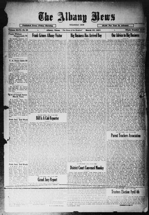 Primary view of object titled 'The Albany News (Albany, Tex.), Vol. 46, No. 25, Ed. 1 Friday, March 27, 1931'.