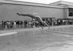 Primary view of object titled '[Diving Competition]'.