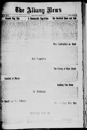 Primary view of object titled 'The Albany News (Albany, Tex.), Vol. 42, No. 22, Ed. 1 Friday, February 12, 1926'.