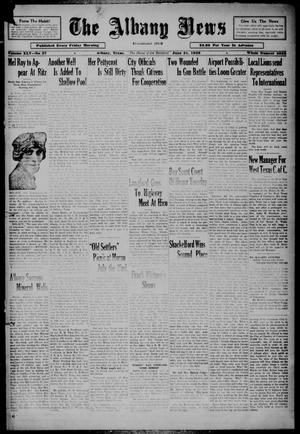 Primary view of object titled 'The Albany News (Albany, Tex.), Vol. 45, No. 37, Ed. 1 Friday, June 21, 1929'.