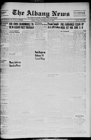 Primary view of object titled 'The Albany News (Albany, Tex.), Vol. 69, No. 38, Ed. 1 Thursday, June 11, 1953'.