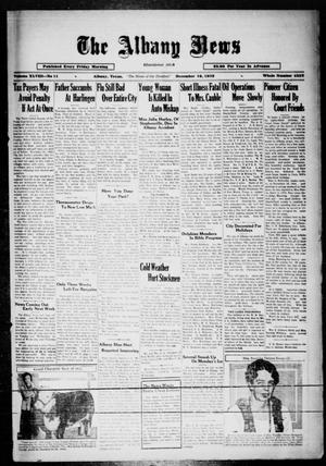 Primary view of object titled 'The Albany News (Albany, Tex.), Vol. 48, No. 11, Ed. 1 Friday, December 16, 1932'.