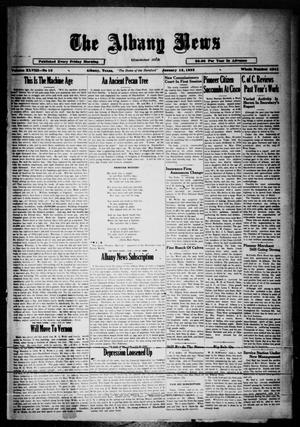 Primary view of object titled 'The Albany News (Albany, Tex.), Vol. 48, No. 15, Ed. 1 Friday, January 13, 1933'.