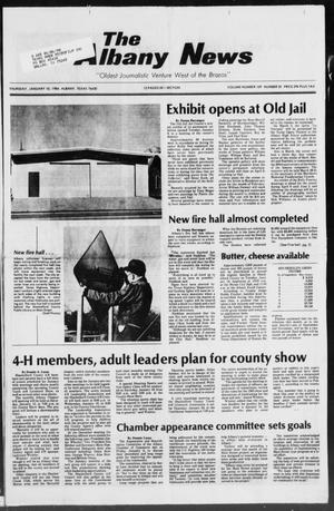 Primary view of object titled 'The Albany News (Albany, Tex.), Vol. 109, No. 30, Ed. 1 Thursday, January 10, 1985'.
