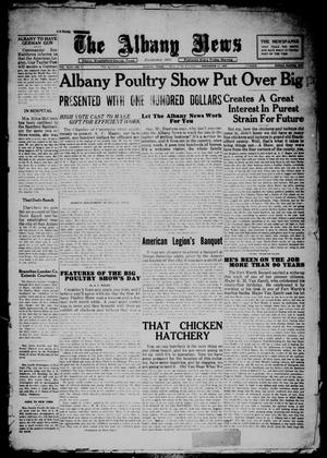 Primary view of object titled 'The Albany News (Albany, Tex.), Vol. 44, No. 7, Ed. 1 Friday, November 11, 1927'.