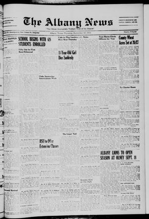 Primary view of object titled 'The Albany News (Albany, Tex.), Vol. 69, No. 51, Ed. 1 Thursday, September 10, 1953'.