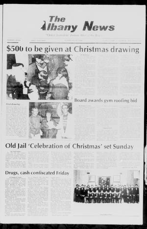 Primary view of object titled 'The Albany News (Albany, Tex.), Vol. 111, No. 26, Ed. 1 Thursday, December 11, 1986'.
