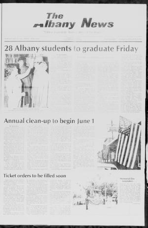 Primary view of object titled 'The Albany News (Albany, Tex.), Vol. 110, No. 50, Ed. 1 Thursday, May 29, 1986'.