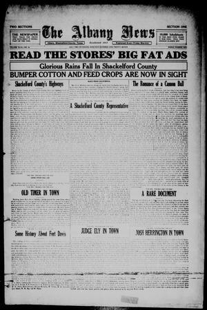 Primary view of The Albany News (Albany, Tex.), Vol. 43, No. 42, Ed. 1 Friday, July 15, 1927