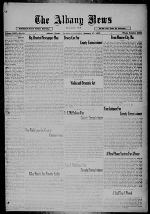 Primary view of object titled 'The Albany News (Albany, Tex.), Vol. 46, No. 15, Ed. 1 Friday, January 17, 1930'.