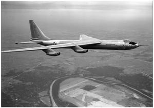 Convair YB-60, third flight
