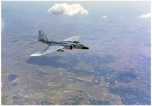 RB-57F, Four-engine Jet