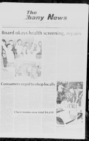 Primary view of The Albany News (Albany, Tex.), Vol. 111, No. 22, Ed. 1 Thursday, November 13, 1986