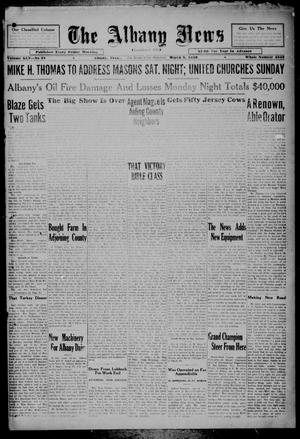 Primary view of object titled 'The Albany News (Albany, Tex.), Vol. 45, No. 22, Ed. 1 Friday, March 8, 1929'.