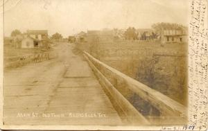 Primary view of object titled '[Bridge downtown Round Rock]'.