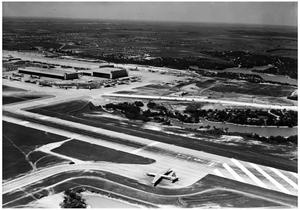 Primary view of object titled 'Aerial View of Convair'.