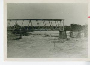 Primary view of object titled '[Bridge over Brushy Creek]'.