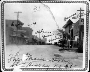 Primary view of object titled '[Main drag in Liberty Hill]'.