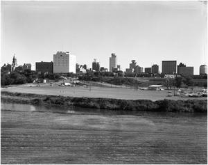 Primary view of object titled '[Photograph of Fort Worth Skyline]'.