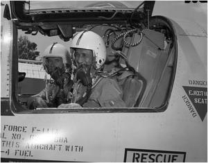 Primary view of object titled 'Crew of F-111 #3 in Cockpit'.