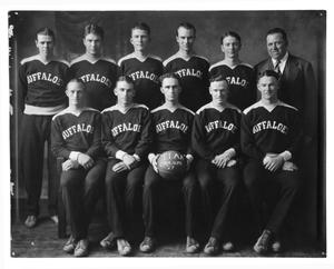Primary view of object titled '[West Texas State Teachers College basketball team]'.