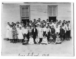 Primary view of object titled 'Love School, 1909'.