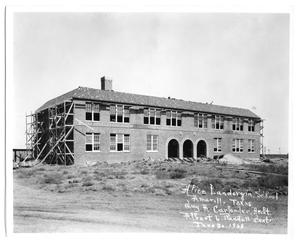 Primary view of object titled 'Alice Landergin School, Amarillo, Texas'.