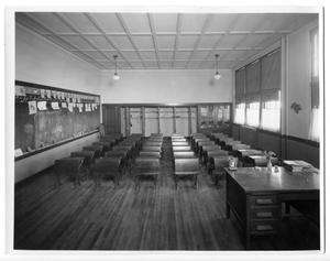 Primary view of object titled 'Alice Landergin School, Amarillo, Texas, Guy Carlander, architect'.