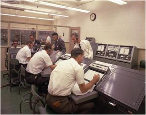 Primary view of object titled 'F-111 Flight Control Room'.