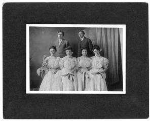 Primary view of object titled '[Canyon High School 1907 graduating class]'.