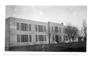 Primary view of object titled '[Childress, Texas school]'.