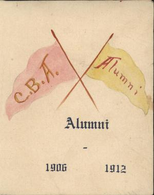 Primary view of object titled 'C.B.A. Alumni'.