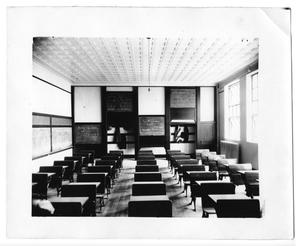 Clarendon, Texas grade school class room